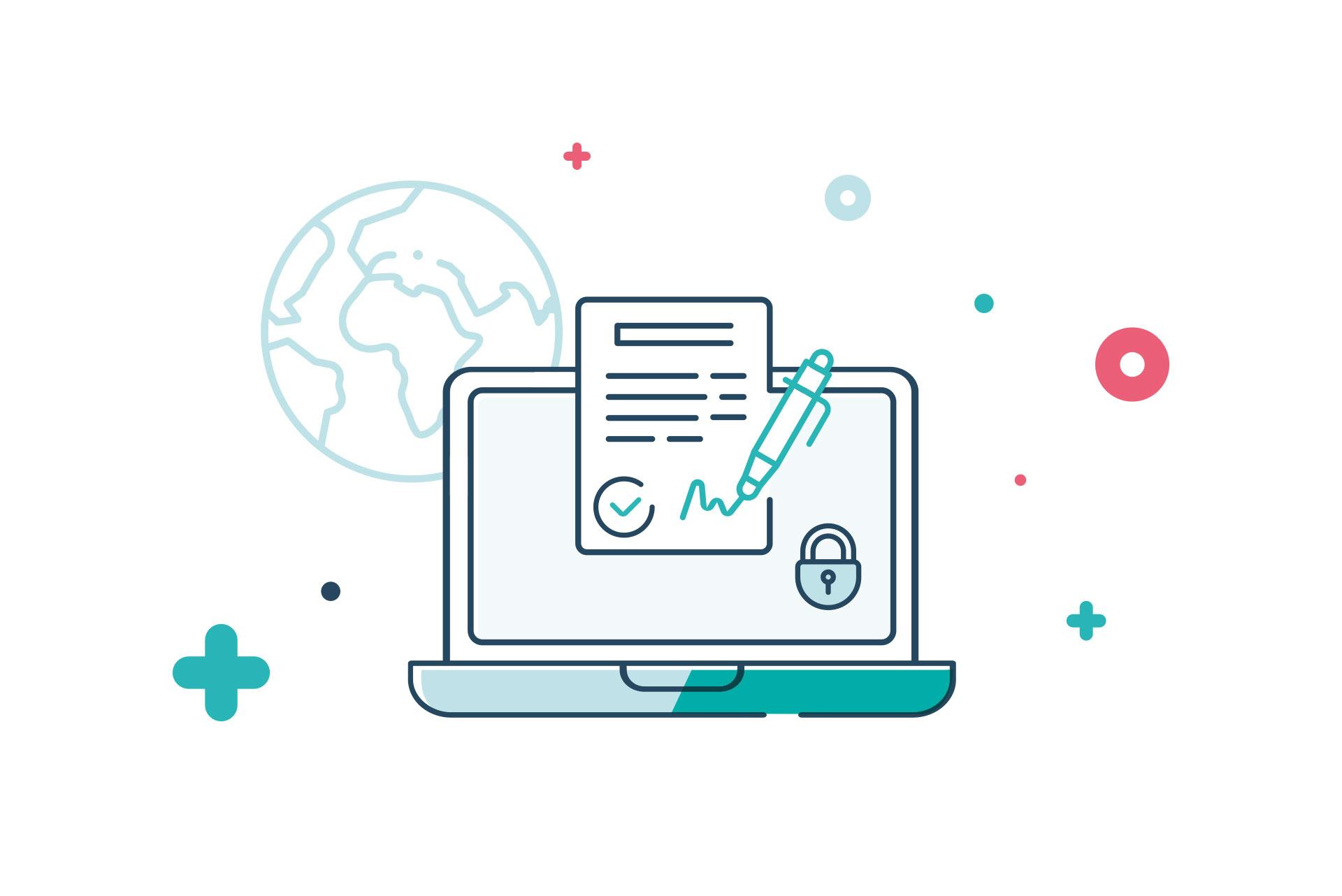 SCOPE Insight e-signature feature